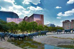 Dallas, Texas - Pioneer Plaza