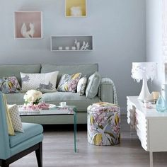 Best Use of Pastels : Pastels are on the upswing this year, and are a decor trend to keep a lookout for in 2013. We love the pastel shadow boxes that create interesting, one-of-a-kind wall decor.  Source: Instagram user charlottejardfors