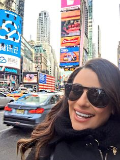 Lea Michele in New York