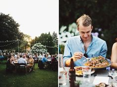 family style foodie wedding reception