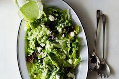 Eric Korsh's Farm Lettuces Salad with Dill Vinaigrette Recipe on Food52 recipe on Food52