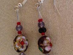 Earrings - Kiwi Christmas BBX025
