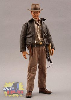 Indiana Jones 1/16 Action Figure by Real Action Heroes