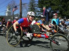 Watching first para cyclist finish Boston Marathon was amazing and awe inspiring