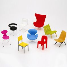 mod mini chairs