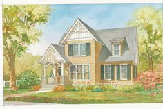 18 Small House Plans: Ellsworth Cottage, Plan #1351