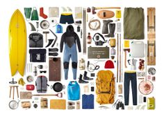 The Finisterre Cold Water Surf Tip Kit List.
