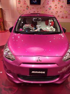 Mitsubishi Mirage, Hello Kitty edition!