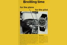 Breitling advertisement
