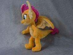Smolder Dragon Plush Toy Made to Order image 4