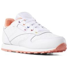 3318669b867 Reebok Shoes Unisex Classic Leather in Perf-white Stellar Pink Teal Size 12  - Lifestyle Shoes