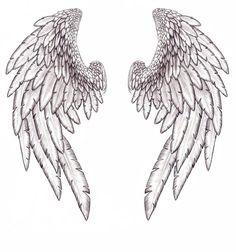 Full back tattoo design