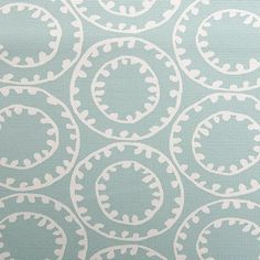 Ring a Bell Fabric is a great coordinating fabric from the Downtown Smart Collection by P/Kaufmann. This circular medallion design is screen printed on a 100% cotton fabric featuring a soil and stain repellent finish.