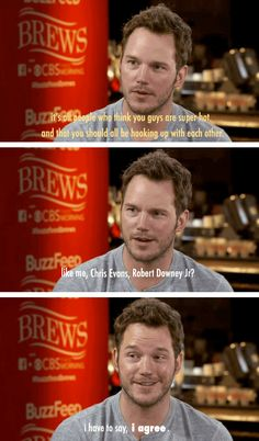 Chris Pratt has the right philosophy about fan fiction.