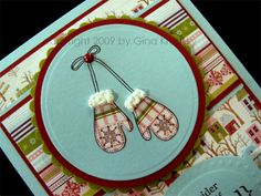 Liquid applique is a fun little trick to amaze your card recipients.