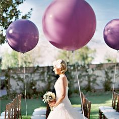 Chic and fun ways to use balloons