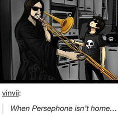 Quando Perséfone não está em casa -.-'