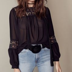 Brand new for love and lemon blouse New For Love and Lemons Tops Blouses