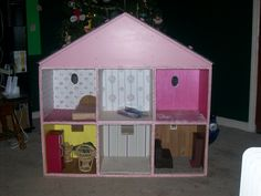 1000 Images About Doll House Homemade On Pinterest