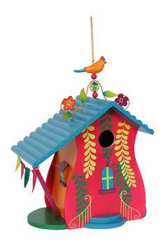 Comprar casita de pájaros, para colgar. Ref Berlín 126372