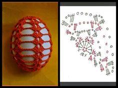 Christmas Crochet Patterns Part 9 - Beautiful Crochet Patterns and Knitting Patterns Christmas Crochet Patterns, Crochet Flower Patterns, Crochet Stitches Patterns, Crochet Chart, Thread Crochet, Crochet Motif, Knitting Patterns, Crochet Egg Cozy, Crochet Stone