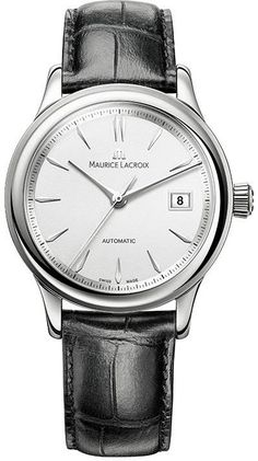 @mauricelacroix  Watch Les Classiques #bezel-fixed #bracelet-strap-leather #brand-maurice-lacroix #case-depth-11mm #case-material-steel #case-width-38mm #date-yes #delivery-timescale-call-us #dial-colour-silver #gender-mens #limited-code #luxury #movement-automatic #official-stockist-for-maurice-lacroix-watches #packaging-maurice-lacroix-watch-packaging #style-dress #subcat-les-classiques #supplier-model-no-lc6027-ss001-130 #warranty-maurice-lacroix-official-2-year-guarantee…