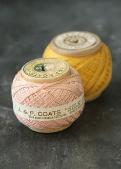 Beautiful vintage spool of J & P Coats silk thread. Sewing Art, Sewing Tools, Sewing Crafts, Sewing Projects, Yarn Thread, Thread Spools, Needle And Thread, Silk Thread, Broderie Simple