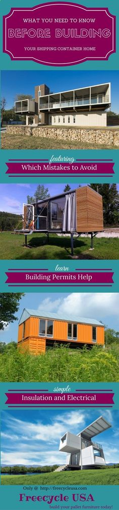 Container House - How To Build Your Own Shipping Container Home When it comes to building your own shipping container home there are many things we need to consider. I imagine you've already searched for various other guides online, however many of these guides don't contain the crucial information which you need. Most people who want to build … Who Else Wants Simple Step-By-Step Plans To Design And Build A Container Home From Scratch?