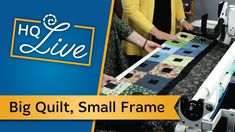 Every month, we conduct Handi Quilter Live right from our headquarters in Salt Lake City! We share our wealth of knowledge with anyone who wants to join! Longarm Quilting, Machine Quilting, Handi Quilter, King Size Quilt, Two By Two, Make It Yourself, Quilts, Lake City, Live