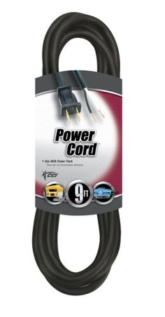 REPLACEMENT CORD - SJEO. 13A/125V rating. Fits most brands and maytype tools. grounded. Designed for most power tools and household appliances. Two wire ending. Polarized. Thermoplastic jacket. great for outdoor use.