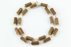 Women Hazel Necklace - clear/gold - Healing Hazel Beaded Necklace, Necklaces, Ankle Bracelets, Pearl Beads, Healing, Pearls, Gold, Jewelry, Women