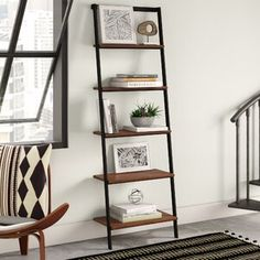 Cube Bookcase, Etagere Bookcase, Ladder Bookcase, Bookshelves, Modern Home Office Furniture, Contemporary Bookcase, Solid Wood Shelves, Tall Shelves, Standing Shelves