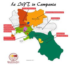 Le IGT del Vino in Campania by Quattrocalici Good Manners, Drink Wine, Italian Wine, Save Water, Italy, Business, Wine, Maps, Summary