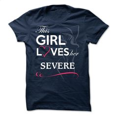 SEVERE – This girl love ger SEVERE T Shirt, Hoodie, Sweatshirts - teeshirt dress #fashion #T-Shirts