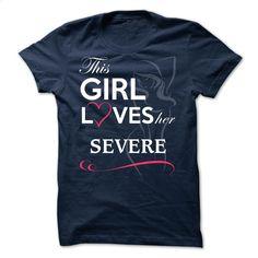 SEVERE – This girl love ger SEVERE T Shirt, Hoodie, Sweatshirts - teeshirt dress #fashion #T-Shirts