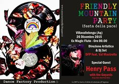 Friendly Mountain Party il 26 dicembre a Villavallelonga (AQ)