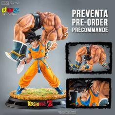 Dragon Ball Goku vs Nappa HQS por Tsume-Art