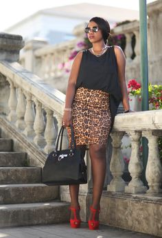 New outfit post | Leopard print is a neutral color...at least in my head.