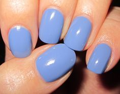 Although I think blue is always in during the summer.. I was obsessed with this color last year... :) Gorgeous color.