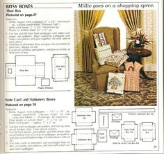 Paper51 - hkKarine1 - Picasa-Webalben Miniature Furniture, Doll Furniture, Dollhouse Tutorials, Miniature Tutorials, Minis, Index Cards, Barbie Accessories, Victorian Christmas, Miniture Things
