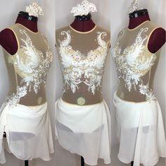Ivory Lyrical Dance Costume (AS/AM)