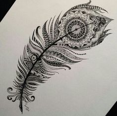 Tribal feather art