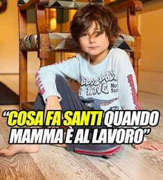 """""""Cosa fa Santi quando mamma è al lavoro"""". Il figlio di Belen Rodriguez ripreso da nonna Veronica: la foto"""