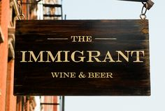 NYC Bar - The Immigrant