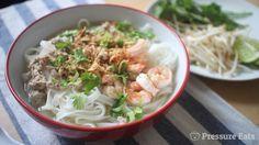 Pressure Eats | Pork and Prawn Hu Tieu Pressure Cooker Recipe