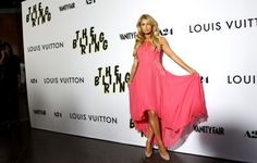 Paris Hilton arrives at the L.A. premiere of 'The Bling Ring' at the Director's Guild of America in Los Angeles on Tuesday, June 4, 2013. (Matt Sayles/Invision)
