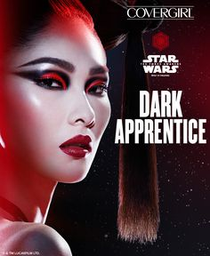 Thinking about Halloween? Try this step-by-step STAR WARS-inspired tutorial for a stunningly sinister Dark Apprentice look featuring COVERGIRL STAR WARS Limited Edition makeup. Click to watch our how-to video and learn how to create the entire look.