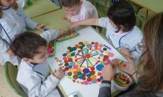 Aprender arte y matemáticas mediante mandalas