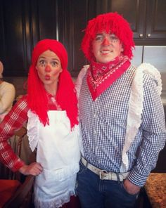 COUPLES: Raggedy Anne and Andy costume
