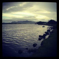 Pôr do Sol na Lagoa...